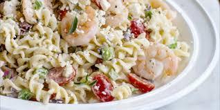 Pasta Salad Recipies by Greek Shrimp And Feta Pasta Salad Oregonian Recipes