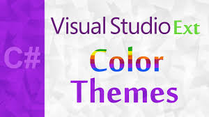 color scheme obsidian c color theme editor visual studio extensions 2015 how to