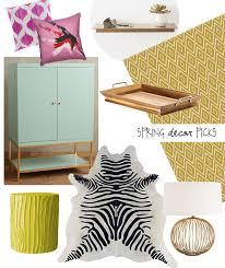 spring 2015 home decor picks lesley myrick art design