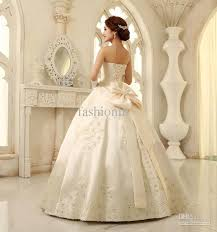 wedding dresses with bows new arrival bra strapless big bow knot wedding dresses satin