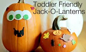 6 No Carve Halloween Pumpkin Ideas for Toddlers