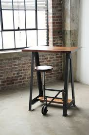 Industrial Standing Desk by Best 25 Stand Up Table Ideas On Pinterest Baseball Birthday
