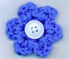 Crochet Designs Flowers The 5 Minute Flower Crochet Flowers Crochet And Free Crochet