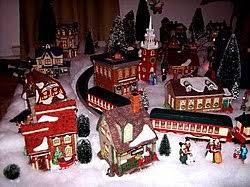 christmas villages christmas