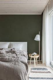 Green Wall Bedroom by Minimalist Bedroom With Dark Green Walls Gorgeous Paint Color