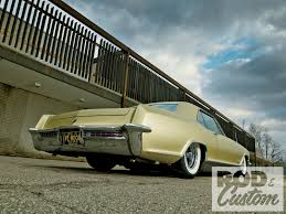 bagged the gs page 2 my 1965 buick riviera gs goldfinger rod and custom mag article