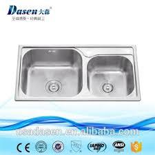 cuve cuisine inox table top chinois cuisine 810x430mm plat cuve de lavage évier