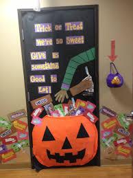 Cute Halloween Door Decorations by Classroom Door Decorations For Halloween With What U0027s Better Than