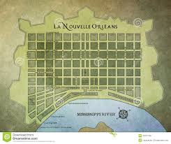 Map Of The French Quarter In New Orleans by New Orleans French Quarter Map Editorial Stock Image Image 49107189