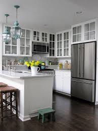 what color to paint a small kitchen for with dark cabinets loversiq
