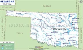 Oklahoma lakes images Oklahoma rivers map rivers in oklahoma jpg