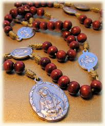 rosary of the seven sorrows franciscan bookstore rosary of the seven sorrows