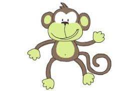 how to draw a monkey for kids drawingnow