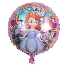 birthday helium balloons sofia princess foil balloons happy birthday helium balloon 3 size