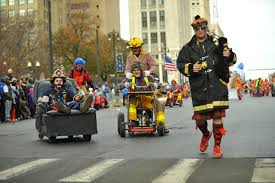 detroit closures for turkey trot thanksgiving parade