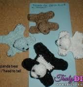 bear rug patterns free bear rug craft patterns 4crafter free