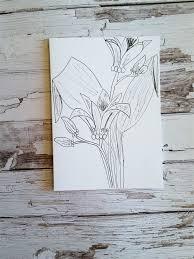 cards botanical sketch pack of 3 house of light madeit com au
