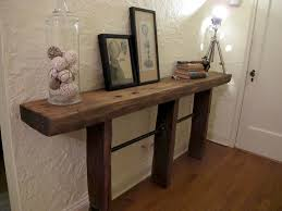 wood and pipe table reclaimed wood and pipe table decor hacks