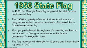 State Flag Of Georgia 1940s S State Politics Ss8h11a 2015 Brain Wrinkles Ppt Download
