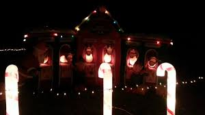 Crazy Christmas Light Show by Lake Myra Christmas Light Show Learntoride Co