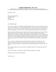 nursing student cover letter example example of application