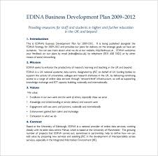 example business plan templates memberpro co