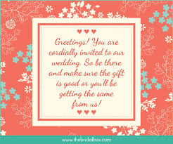 invitation greetings 50 wedding invitation wording ideas you can totally use
