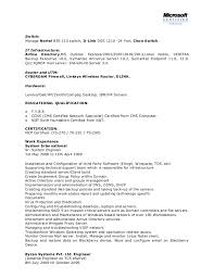 Senior System Administrator Resume Sample Network System Administrator Cv It Executive Resume