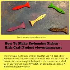 how to make swimming fish super mommy to the rescue