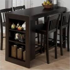 counter height table sets with storage foter