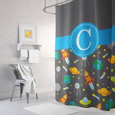 Boys Space Curtains Boys Shower Curtains Interior Design