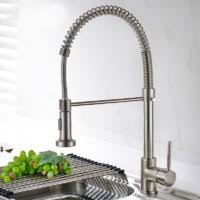 satin nickel kitchen faucet kitchen faucet fapully