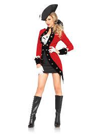 Military Halloween Costumes Women Rebel Red Coat Redcoat British Military Soldier Uniform
