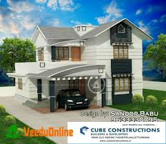 Kerala Home Design May 2015 Double Floor Kerala Home Design 1800 Sq Ft