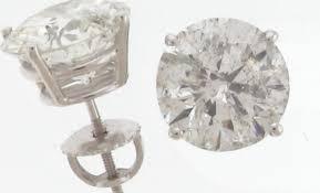 cheap diamond earrings diamonds square pave diamond stud earrings sterling silver