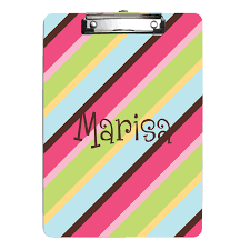 Personalized Cotton Candy Bags Custom Clipboards Monogrammed Kids Clipboard Personalized