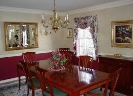 Chair Rail Ideas For Dining Room Paint Ideas For Dining Room With Chair Rail Purple Two Tone