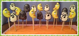 Halloween Themed Cake Pops by Meg Made Creations Cake Balls