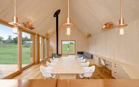 moderne holzhã user architektur holzhaus mit hof moderne einfamilienhäuser