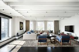 Living Room With Sectional Sofas by Modern Living Room With Side Chairs And Sectional Sofa Stylish