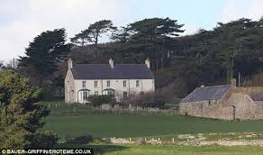 where do prince william and kate live what prince william and kate really got up to at their anglesey love