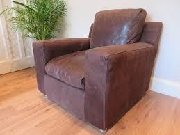 sold stunning habitat leather armchair like bo concept heals