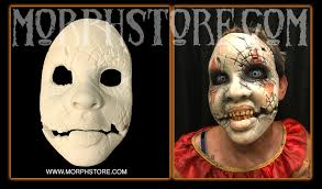 prosthetic halloween mask devil prosthetic face piece 50 99 the morphstore do not