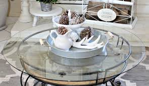 Home Decor Coffee Table Winter Home Decor One More Time Events