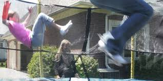 home trampoline danger 1m visits to er study says