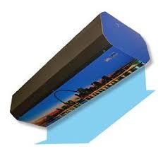 Loading Dock Air Curtain Air Curtains U2014 Rice Equipment Co Loading Dock U0026 Door Service