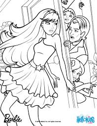 barbie coloring pages print funycoloring