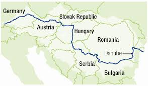 map of germany showing rivers danube river wwf