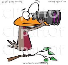 safari binoculars clipart clipart image a man looking through binoculars vector clipart of