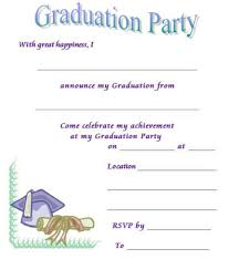 How To Make Graduation Invitations For Free 40 Free Graduation Invitation Templates Template Lab